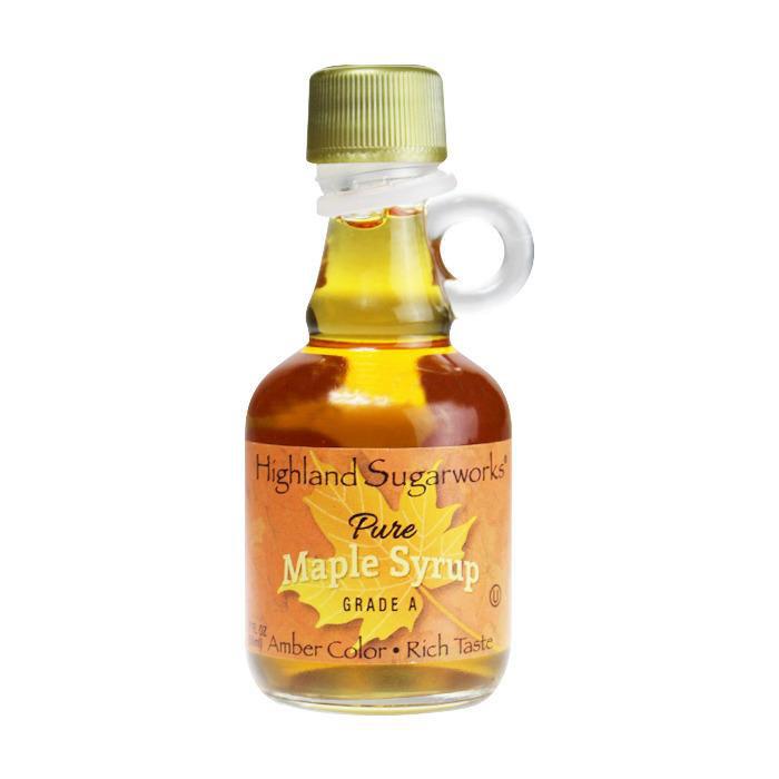 Highland Sugarworks Maple Syrup 1.7 Ounce Nip