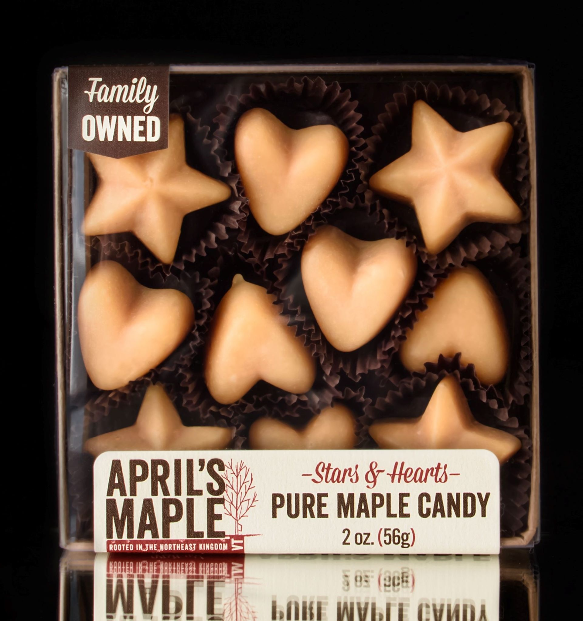 April's Maple Maple Candy Stars And Hearts