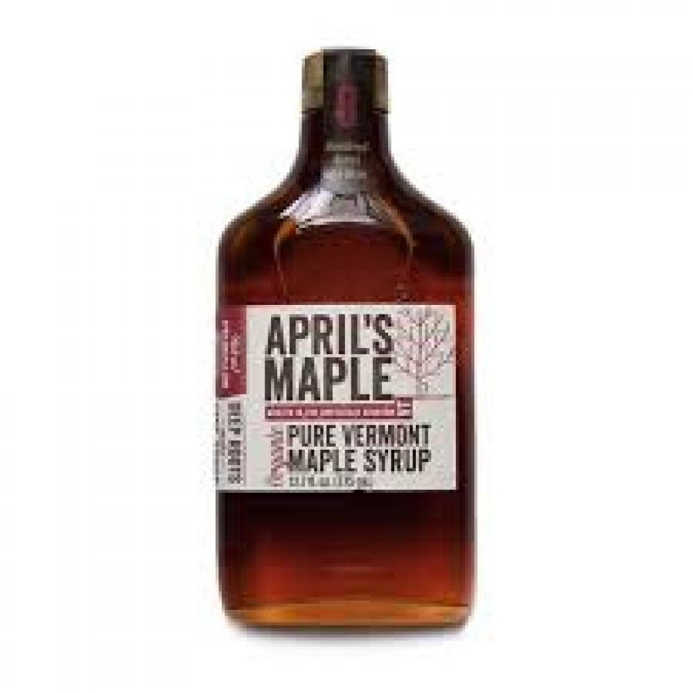 April's Maple Maple Syrup Flask Big