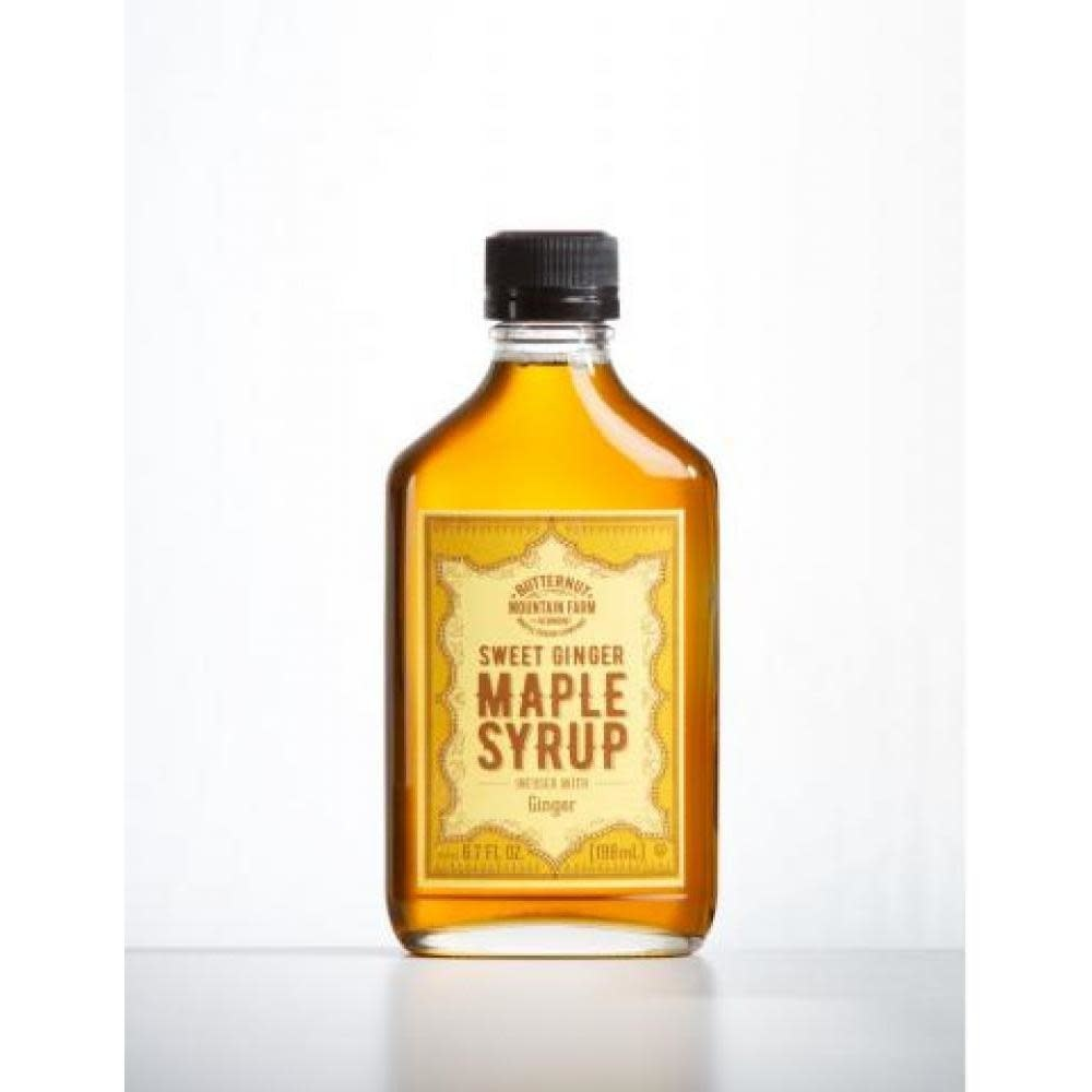 Butternut Mountain Farm Infused Maple Syrup Flask Ginger