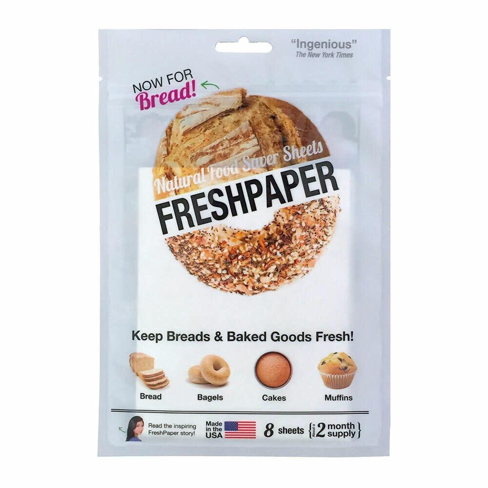Freshpaper Freshpaper Food-Saver Sheets For Bread 8ct