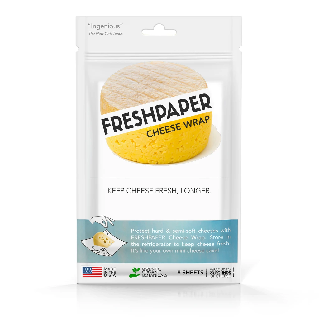 Freshpaper Frespaper Food-Saver Sheets For Cheese 8ct