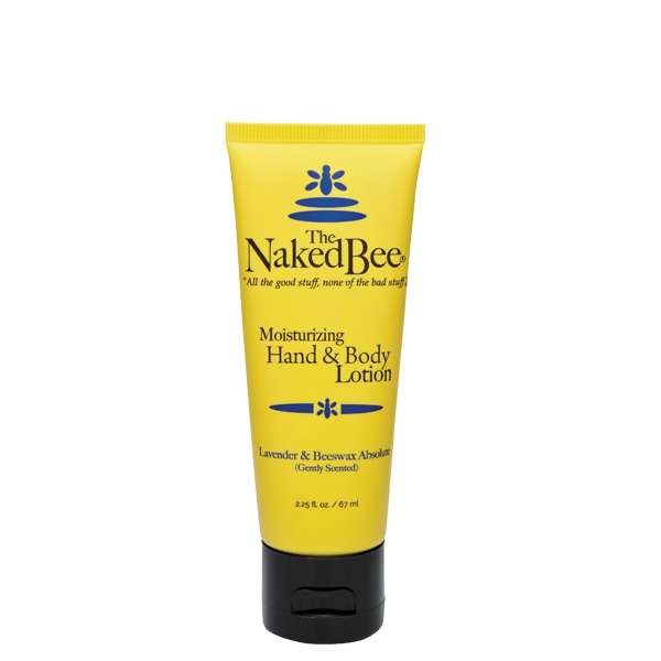 The Naked Bee Lavender And Beeswax Hand And Body Lotion 2.25oz