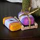 Barn Owl Vermont Felted Soap Gift Set - Evening Primrose