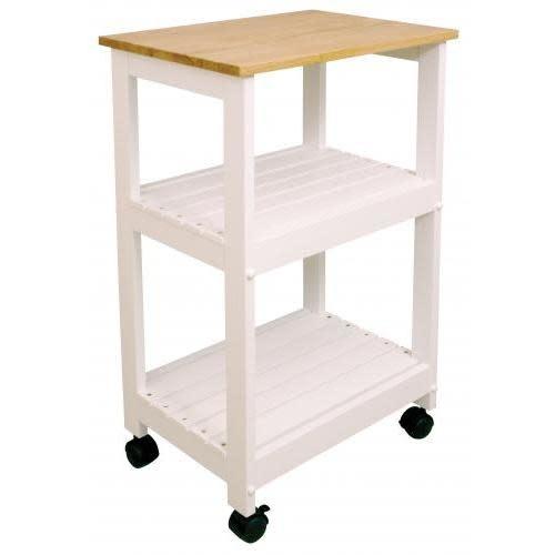 Catskill Craftsmen Inc. Kitchen Cart Utility 21x15 White