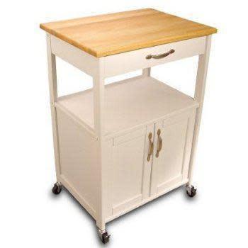 Catskill Craftsmen Inc. Kitchen Cart With White Base 23x17
