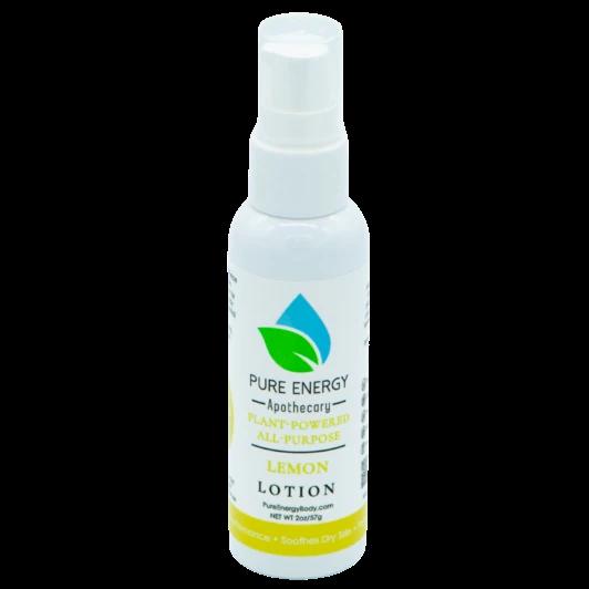 Pure Energy Apothecary Body Lotion - 2oz Lemon