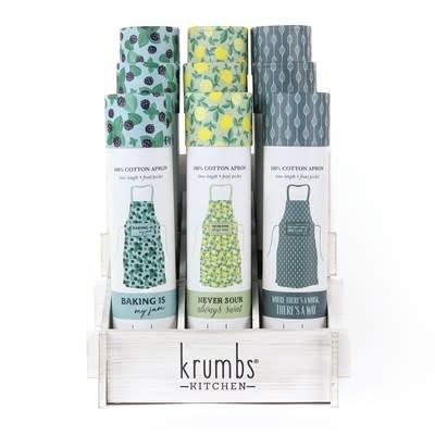 DM Merchandising Krumbs Kitchen Farmhouse Cotton Aprons
