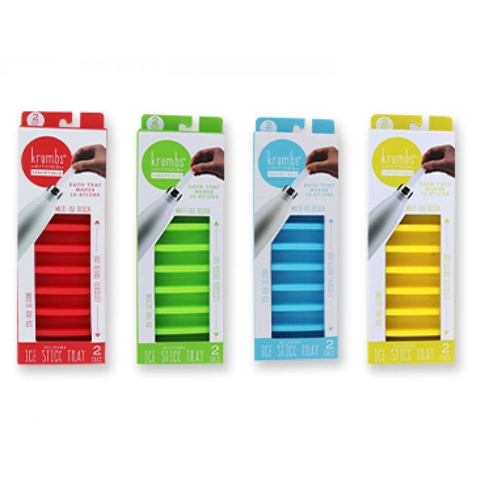 DM Merchandising Krumbs Kitchen Essentials Silicone Ice Stick Tray - 2-Pack