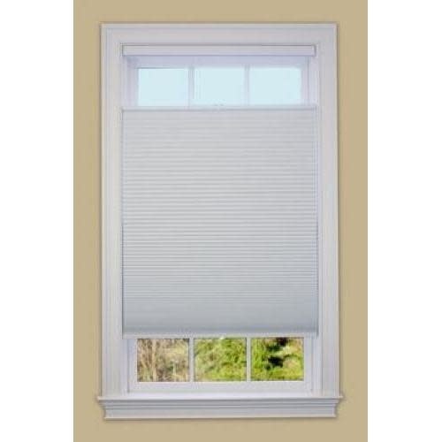 Green Mountain Vista Top Down Bottom Up Honeycomb Shade Blackout White 24in X 64in