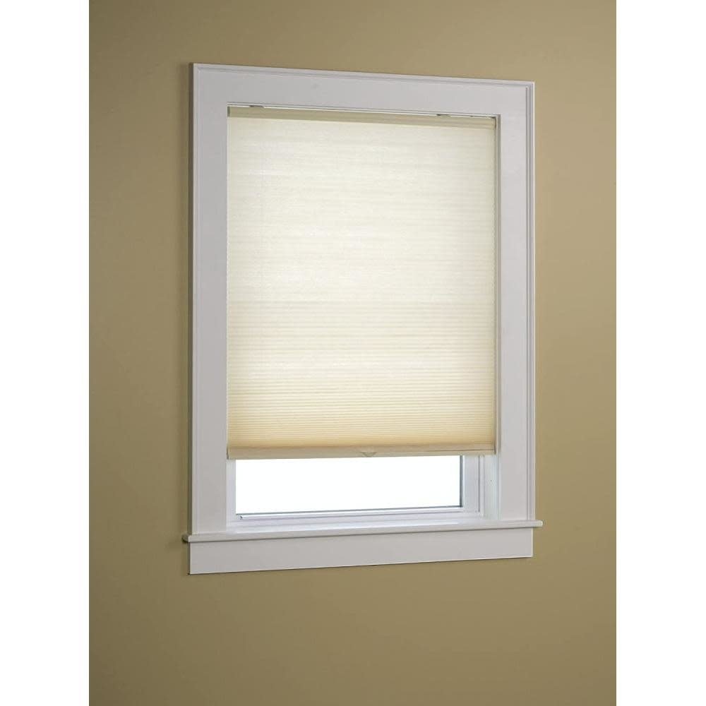 Green Mountain Vista Honeycomb Shade Cordless Light Filtering Natural 27in X 64in