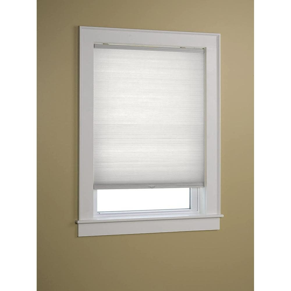 Green Mountain Vista Honeycomb Shade Cordless Light Filtering White 24in X 64in