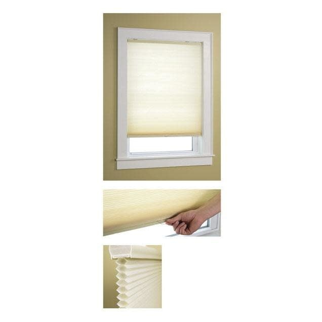 Green Mountain Vista Honeycomb Shade Cordless Light Filtering Natural 23in X 64in