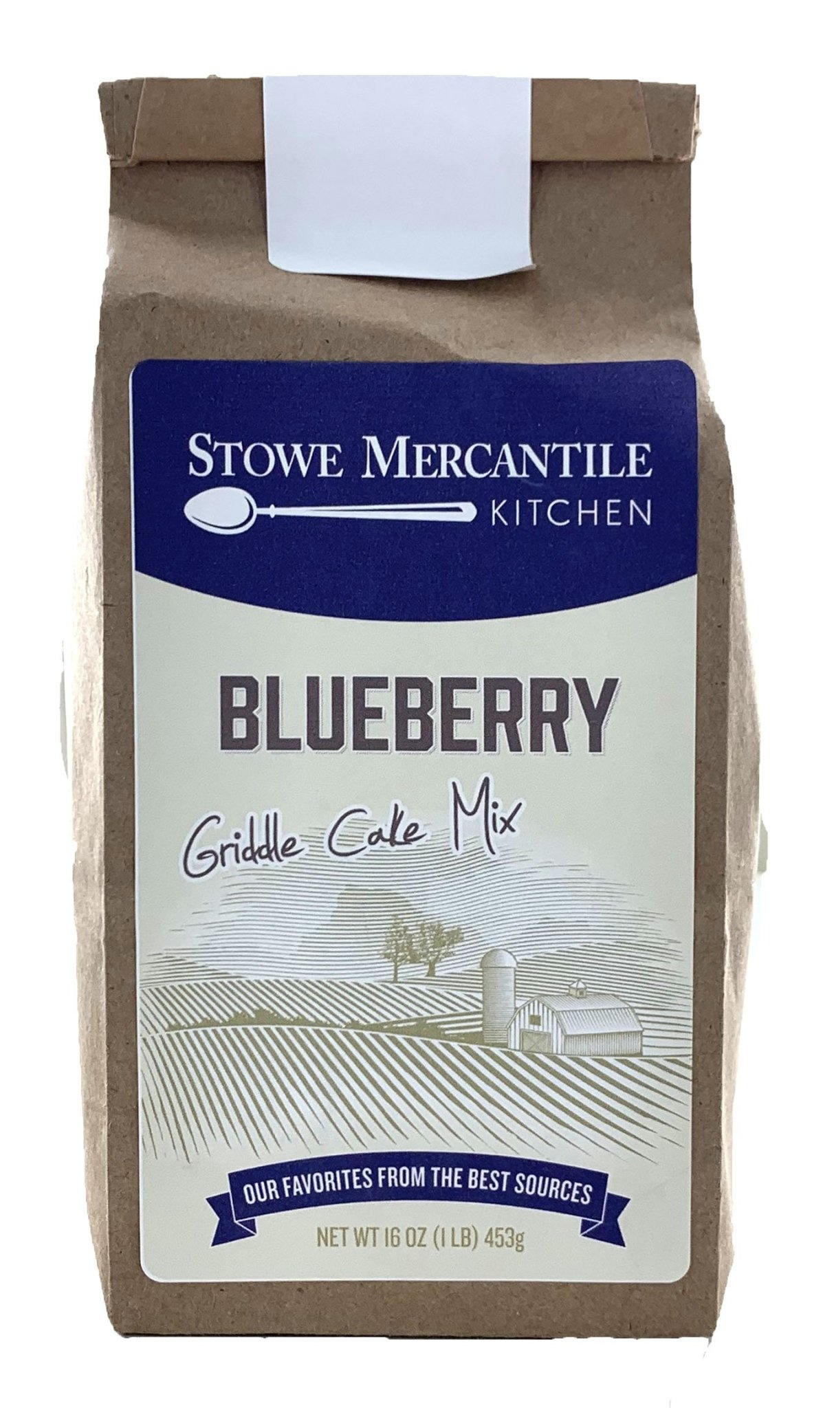 Stowe Mercantile Kitchen Griddle Cake Mix - 1lb, Blueberry