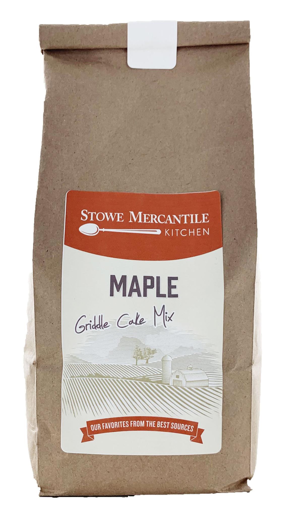 Stowe Mercantile Kitchen Griddle Cake Mix 1lb Maple