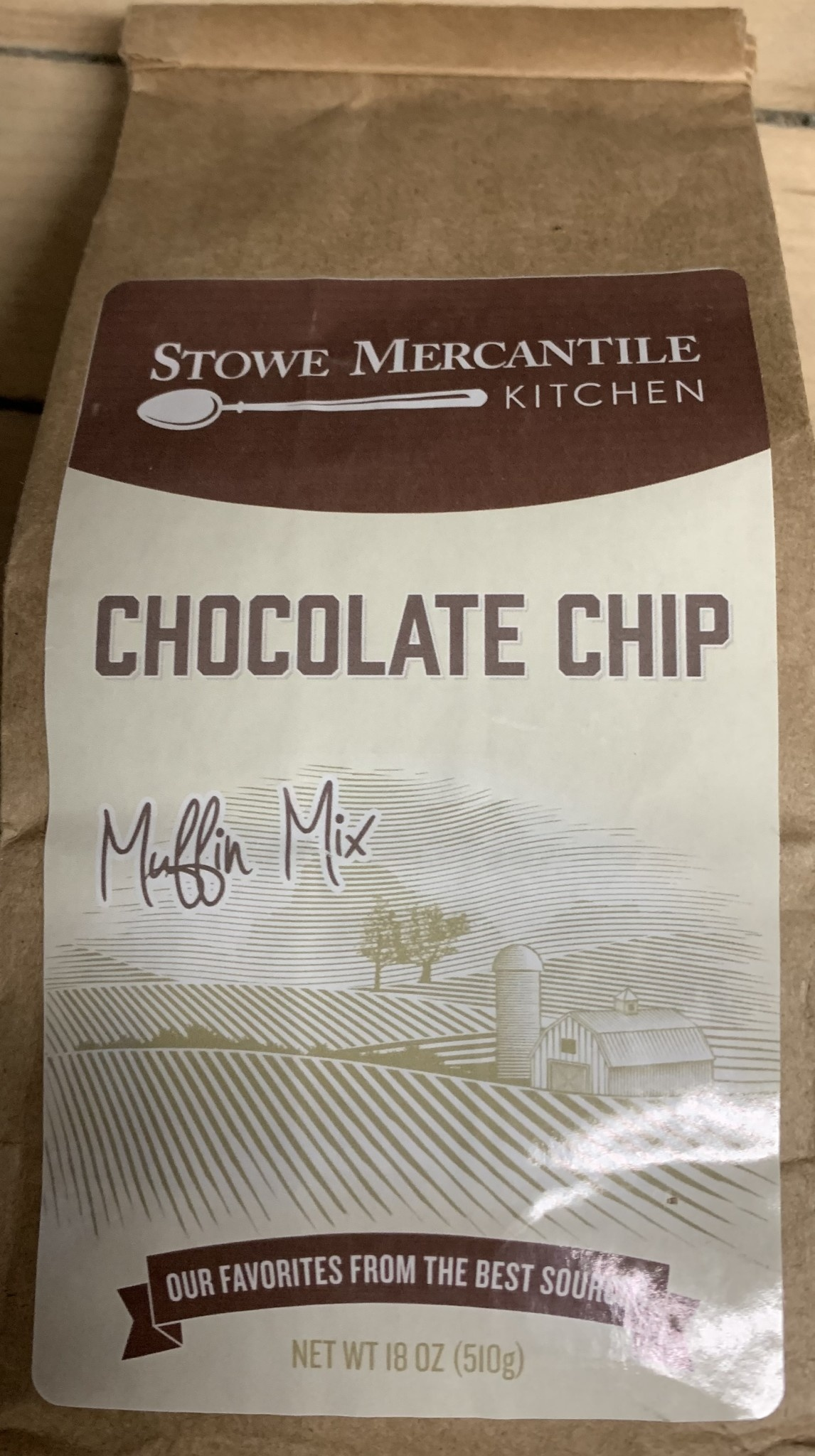 Stowe Mercantile Kitchen Muffin Mix Chocolate Chip
