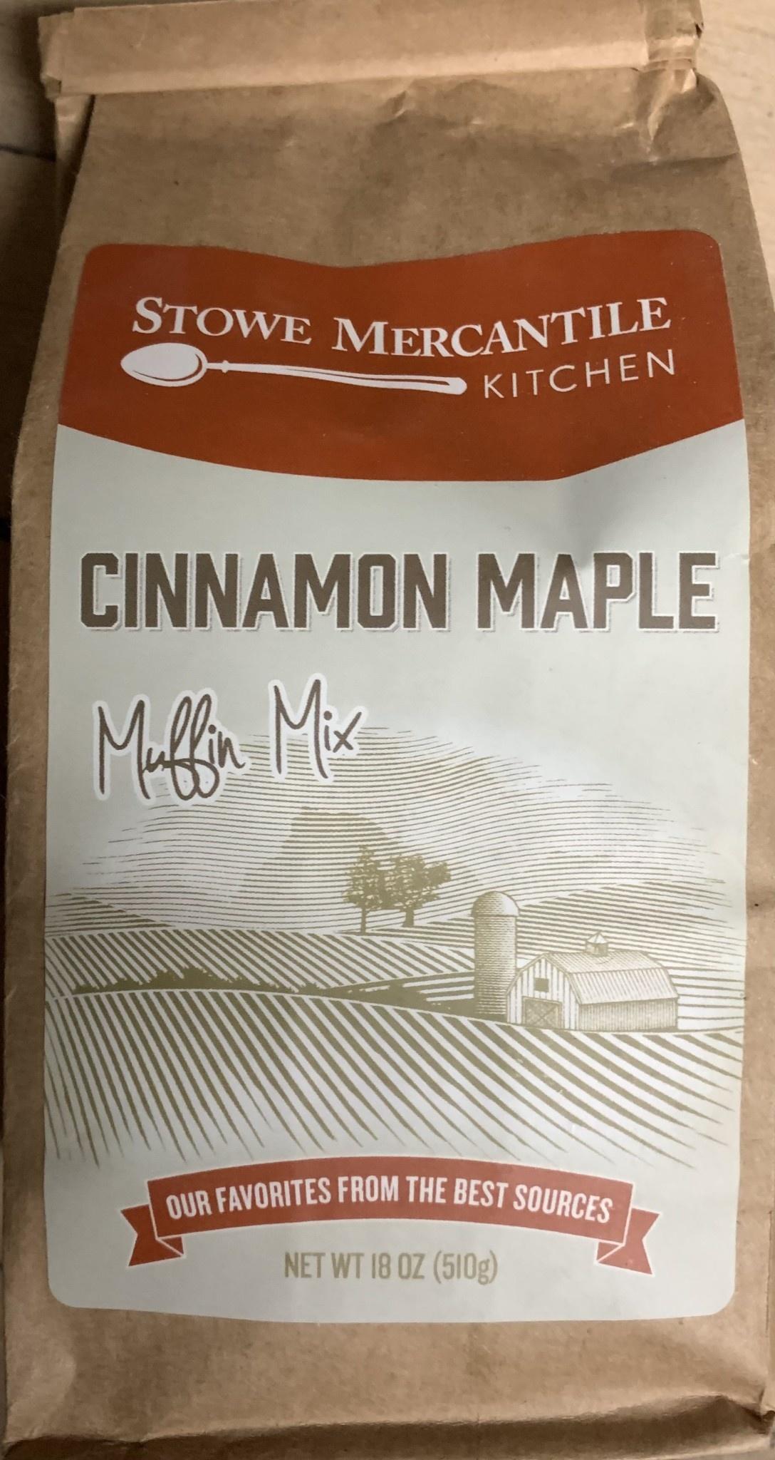Stowe Mercantile Kitchen Muffin Mix - Cinnamon Maple