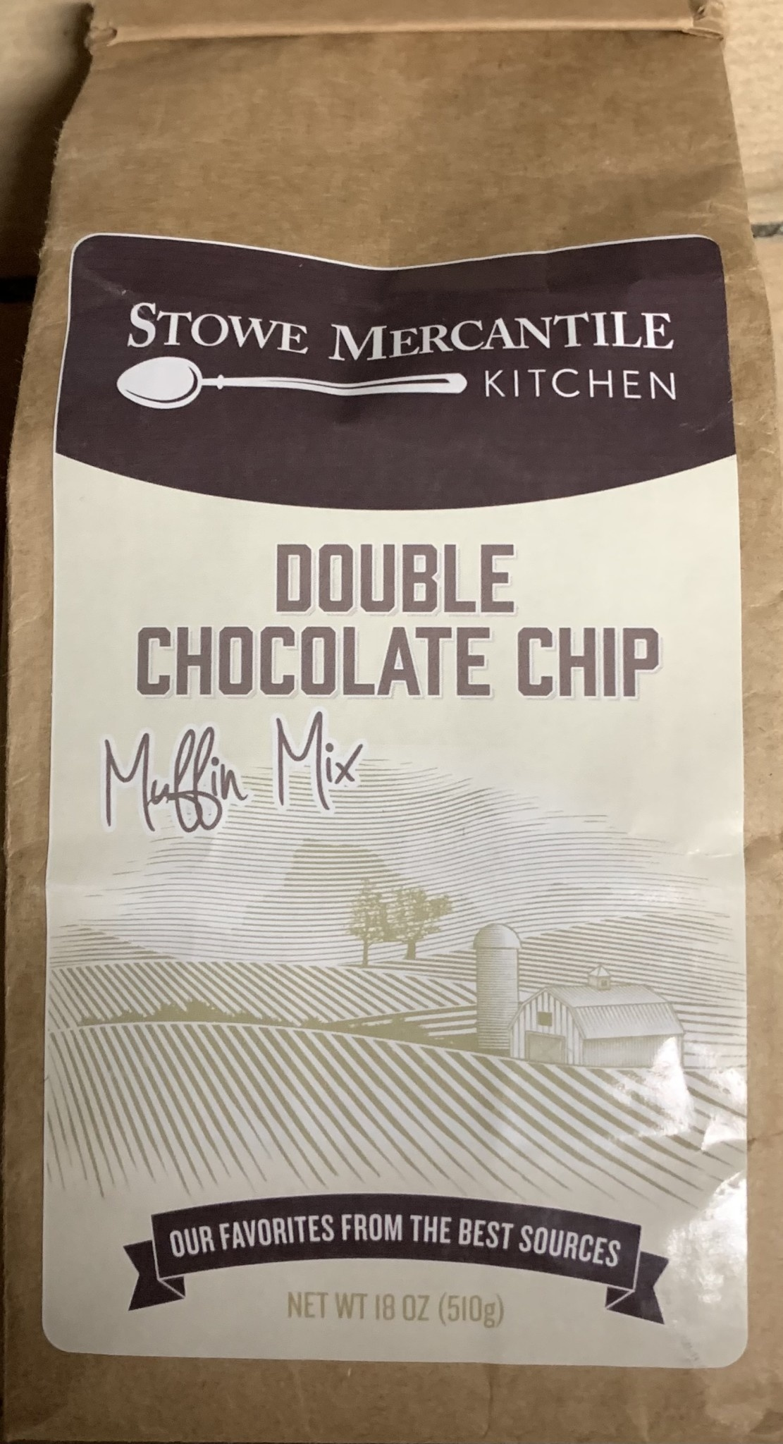 Stowe Mercantile Kitchen Muffin Mix Double Chocolate