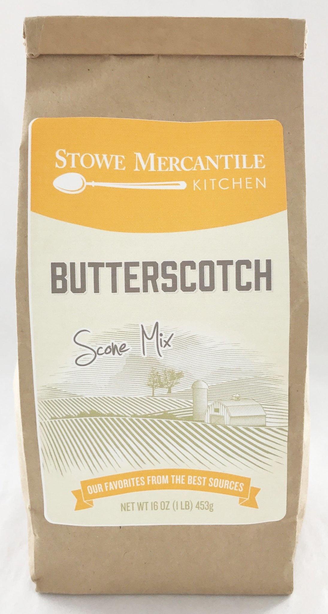 Stowe Mercantile Kitchen Scone Mix Butterscotch