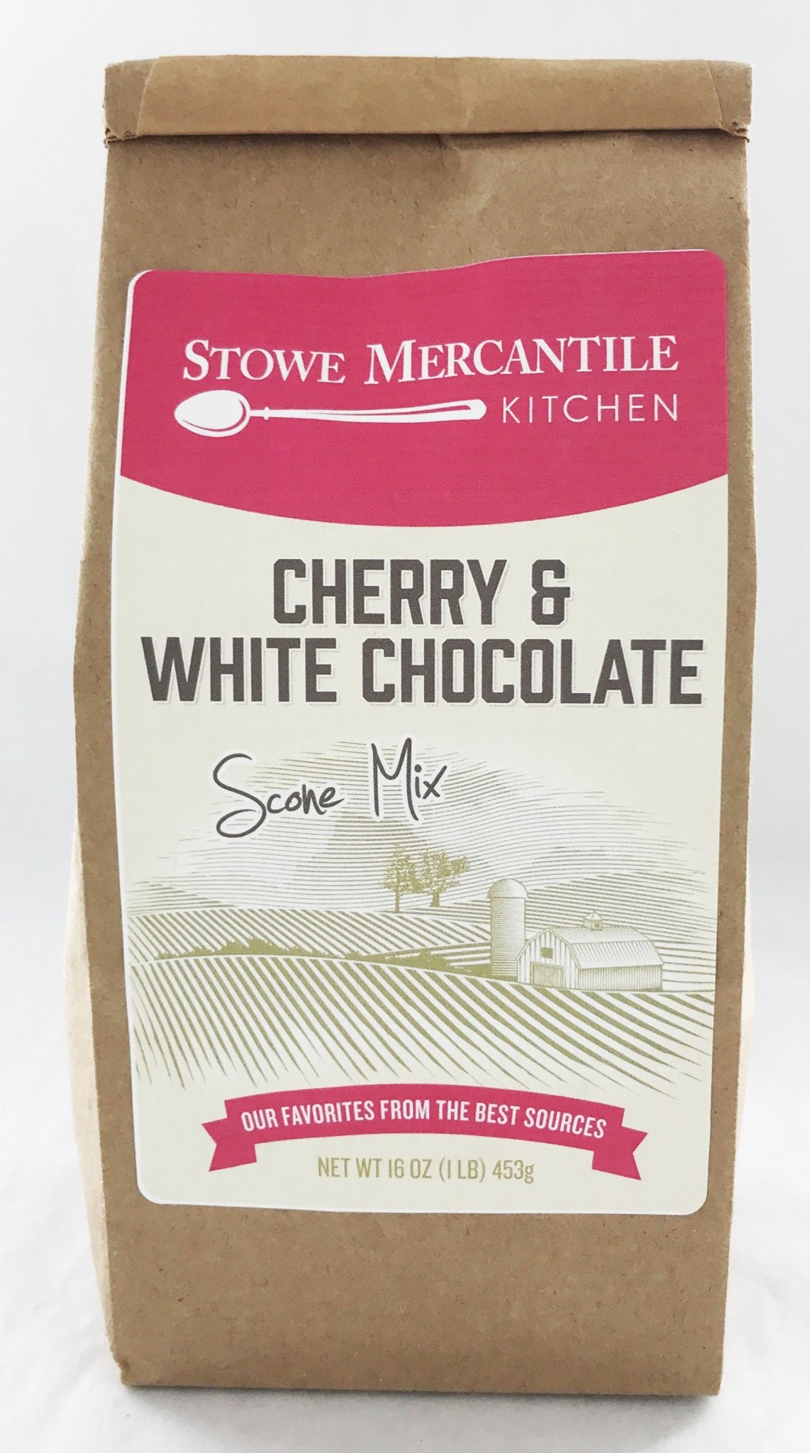 Stowe Mercantile Kitchen Scone Mix - Cherry White Chocolate