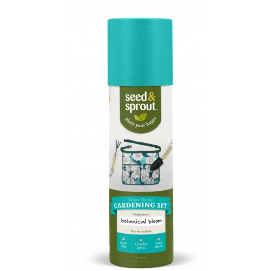DM Merchandising Seed & Sprout Green Thumb Gardening Set- Botanical Bloom