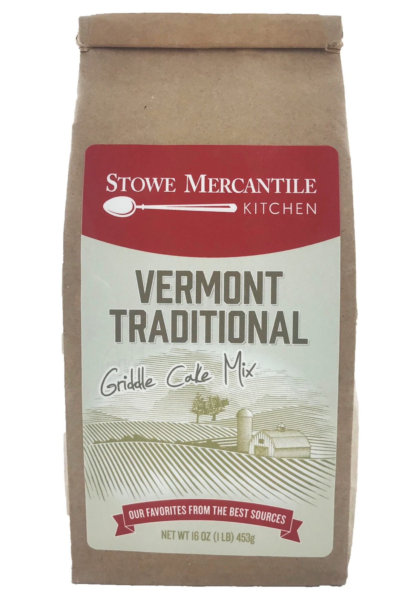 Stowe Mercantile Kitchen Griddle Cake Mix - 1lb, Vermont Traditional