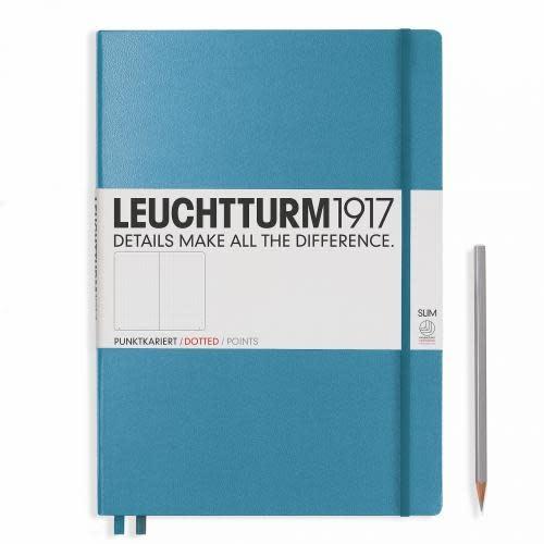 Leuchtturm 1917 Notebook - Master Slim - Nordic Blue - Dotted