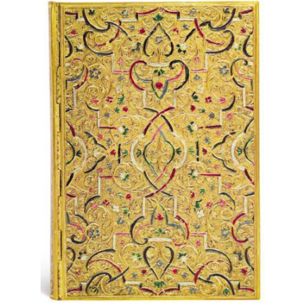 Paperblanks Journals Address Book - Midi - Gold Inlay