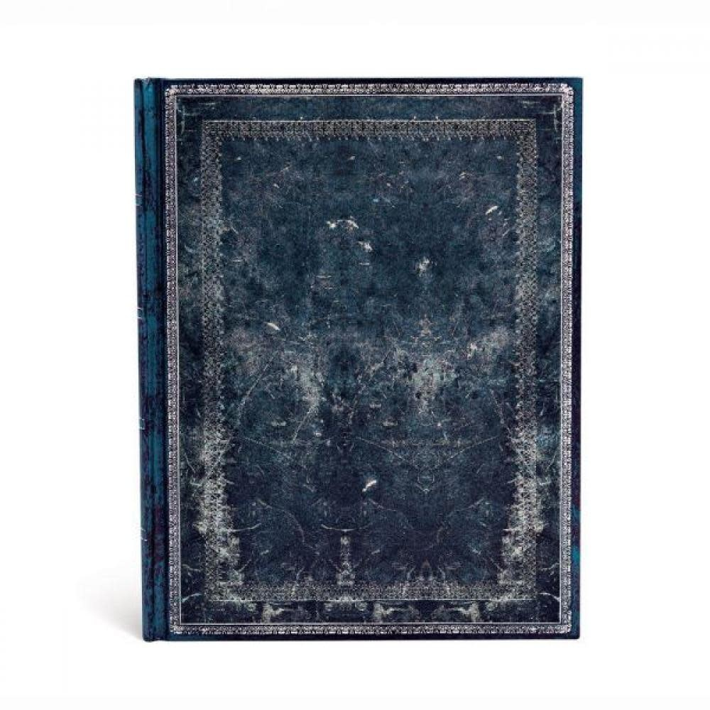 Paperblanks Journals Address Book - Midi - Midnight Steel