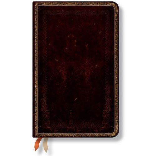Paperblanks Journals Journal - Midi, Lined - Black Moroccan