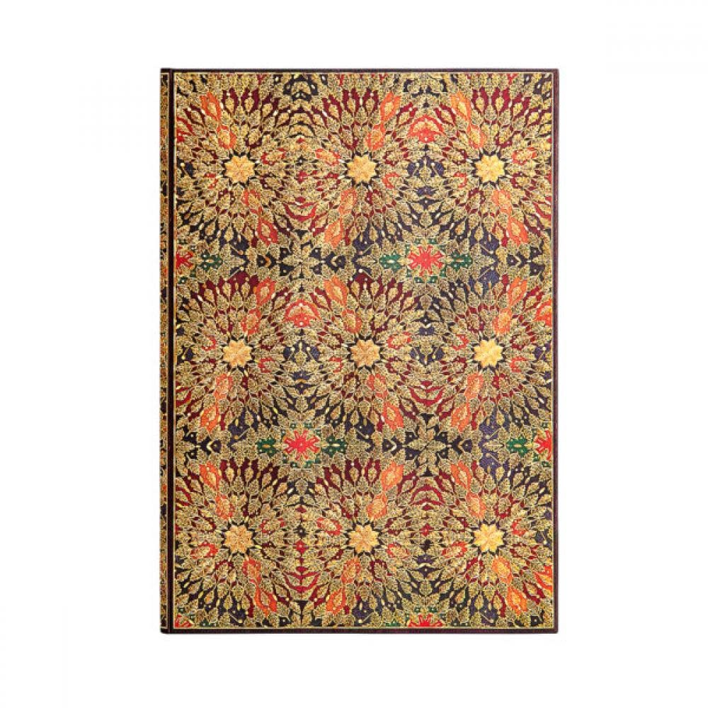 Paperblanks Journals Journal - Midi, Lined - Fire Flowers