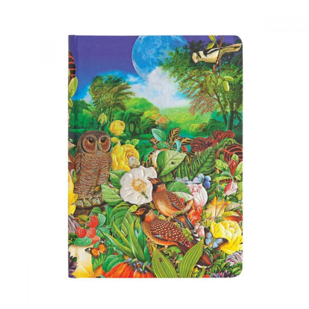 Paperblanks Journals Journal - Midi, Lined - Moon Garden