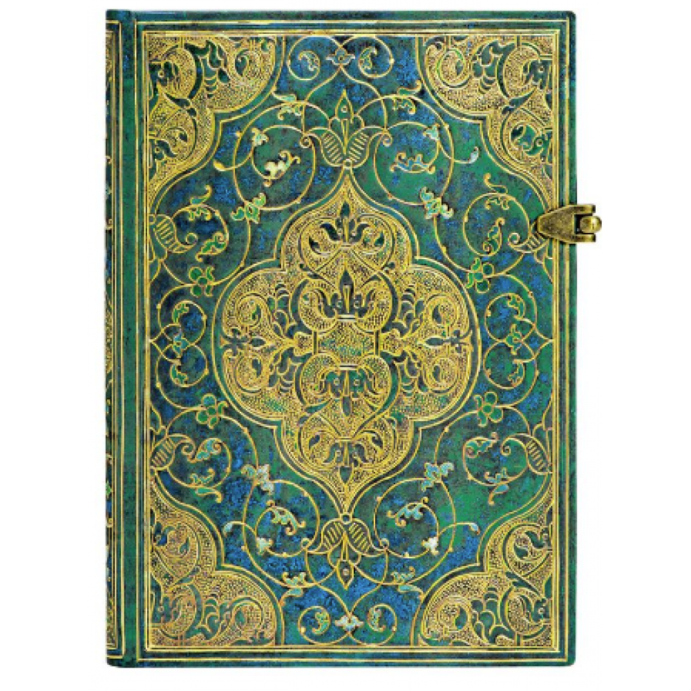 Paperblanks Journals Journal - Midi, Lined - Turquoise Chronicles