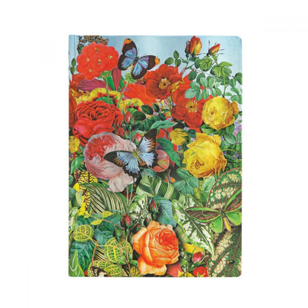 Paperblanks Journals Journal - Midi, Unlined - Butterfly Garden
