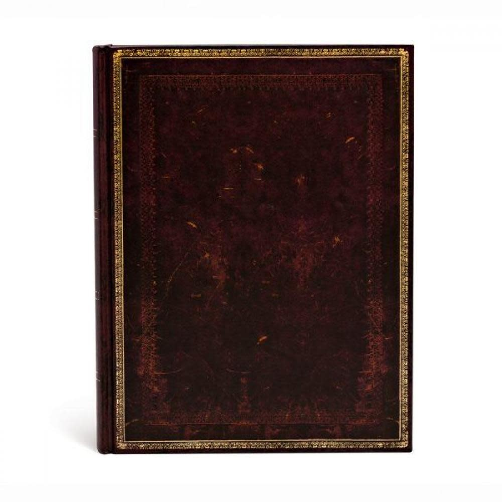 Paperblanks Journals Journal - Ultra, Unlined - Black Moroccan