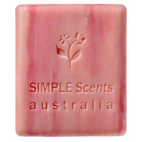 Australian Natural Soapworks Soap Bar 3.5 Oz 100g Melon Strawberry