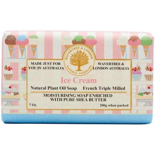 Australian Natural Soapworks Wrapped Soap 7oz 200g Ice Cream