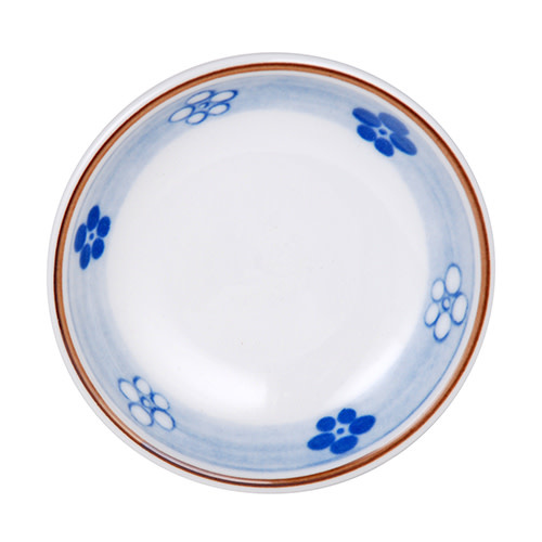 Fuji Merchandise Corp Sauce Dish With Blue Flower