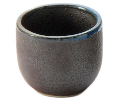 Fuji Merchandise Corp Sake Cup Blue Rim 1oz