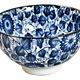 "Fuji Merchandise Corp Rice Bowl Flower Vine 4.25"""