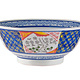 Fuji Merchandise Corp Serving Bowl Cherry Blossom and Check 8.5