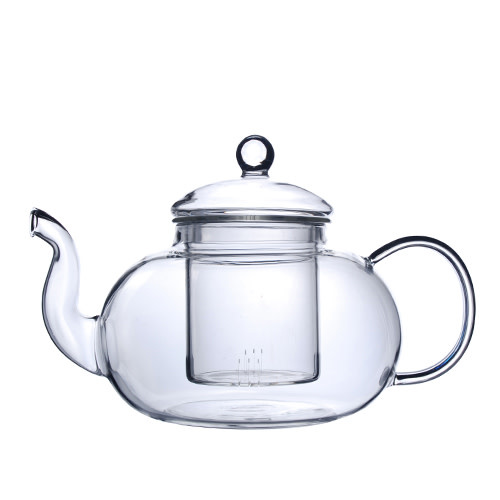 Fuji Merchandise Corp Clear Glass Tea Pot With Strainer