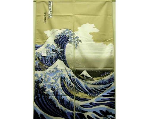 Fuji Merchandise Corp Noren Hokusai 85cm x 150cm