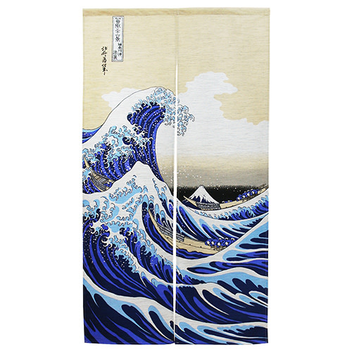 Fuji Merchandise Corp Noren The Wave 85cm x 105cm