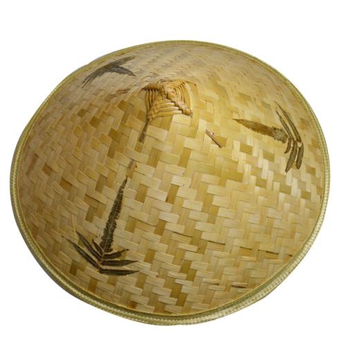 Baifu International Trading Straw Hat Leaf Design