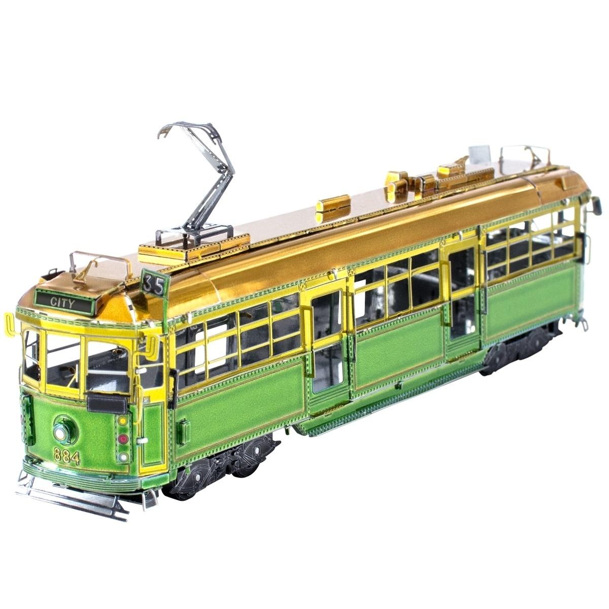 Fascinations Toys & Gifts Metal Model Kit Melborne W Class Tram