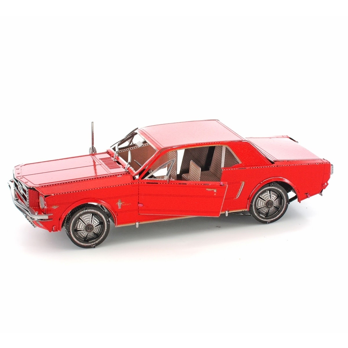 Fascinations Toys & Gifts Metal Model Kit 1965 Mustang Red