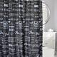 Moda At Home Shower Curtain Fabric Bathroom Rules