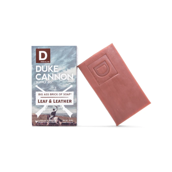 Duke Cannon Duke Cannon Big Ass Brick Of Soap - Leaf & Leather