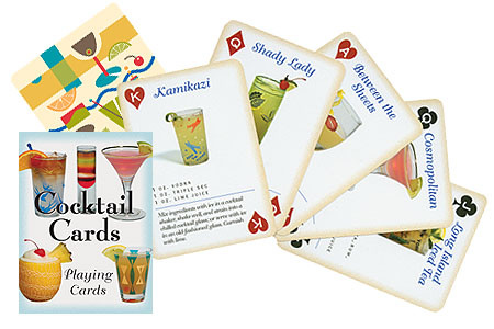 Inkstone Designs Playing Cards - Cocktail Cards